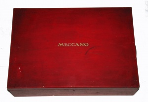 1930s Number 3 Meccano Storage Chest
