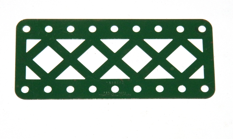 100aDC Double Braced Girder 9 Hole Dark Green Original