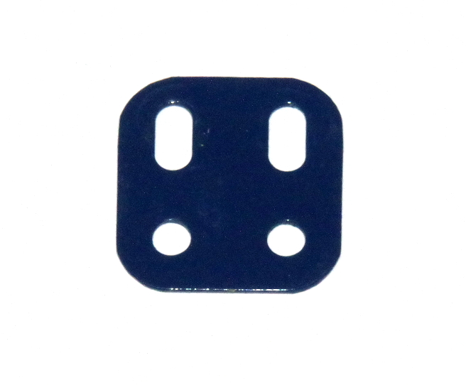 103L Flat Girder 2 Hole Dark Blue Used