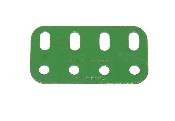 103g Flat Girder 4 Hole Light Green Original