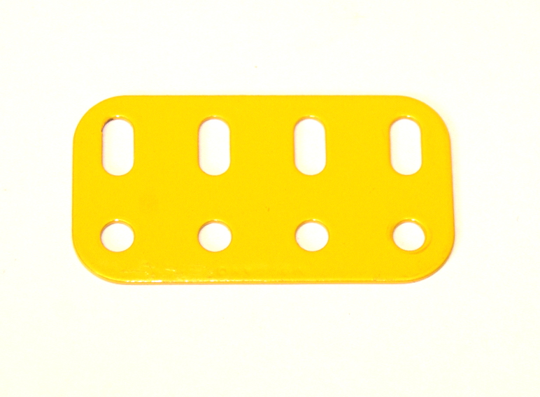 103g Flat Girder 4 Hole UK Yellow Original