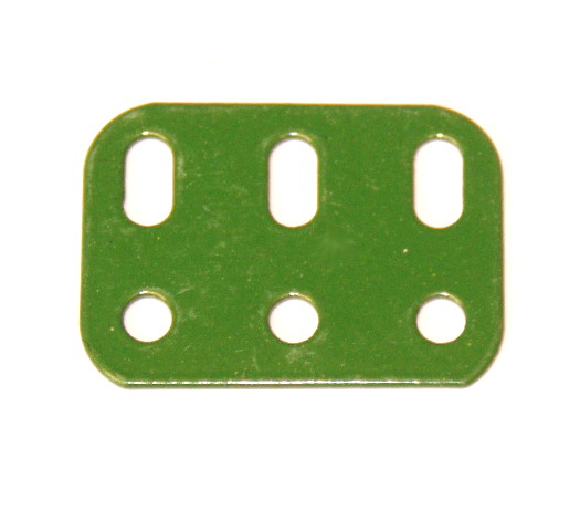 103h Flat Girder 3 Hole Green