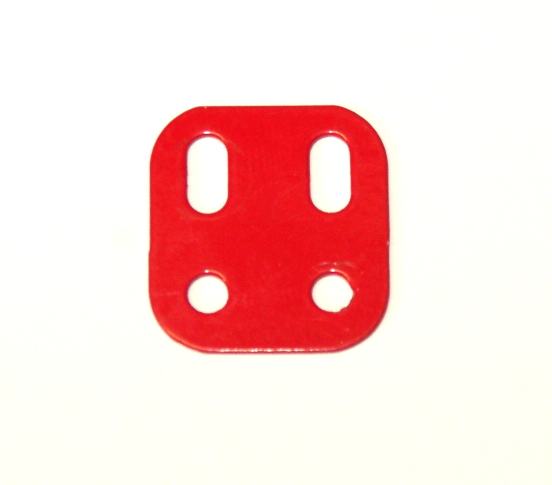 103L Flat Girder 2 Hole Red Original
