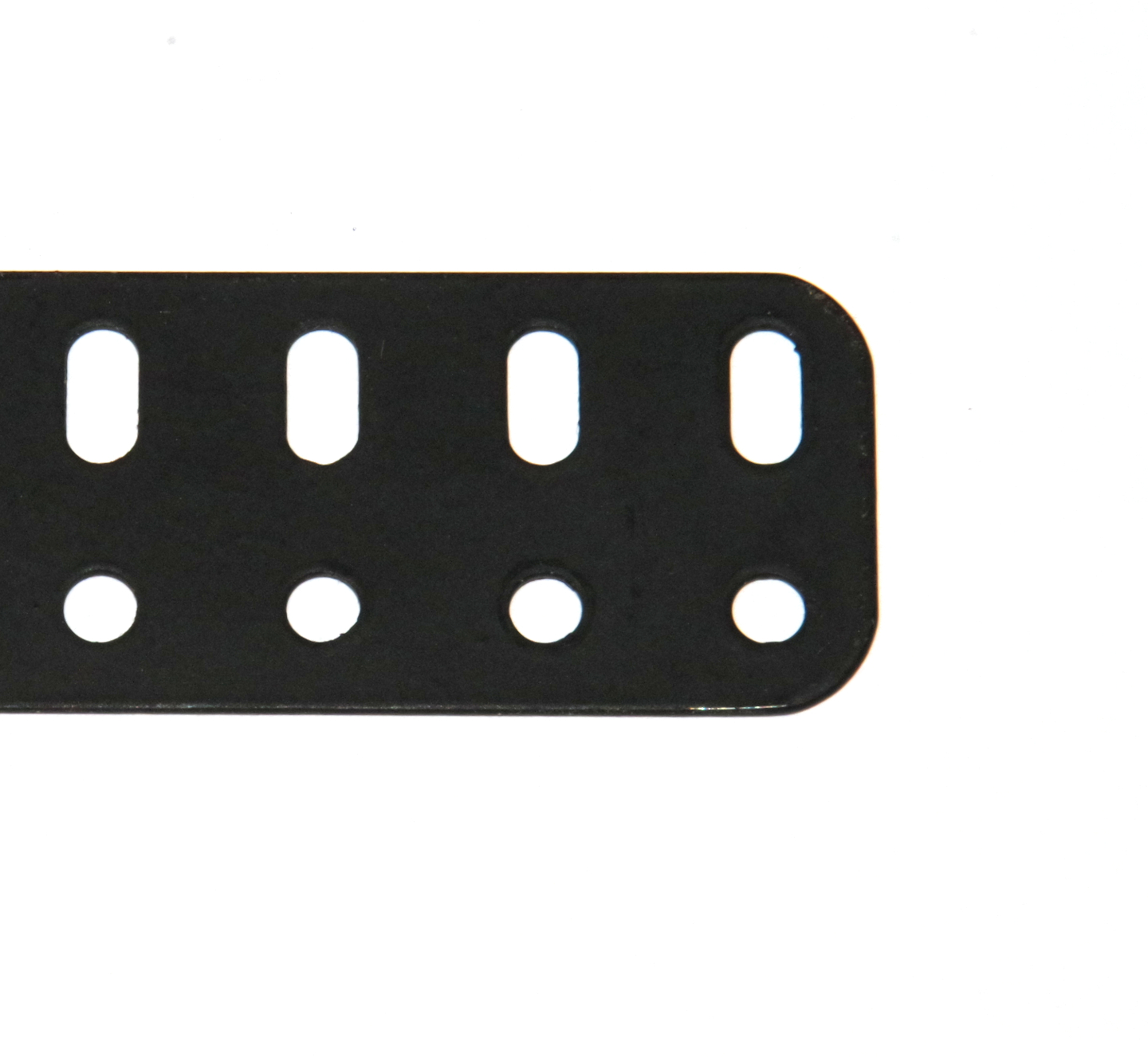 103d Flat Girder 7 Hole Black Original