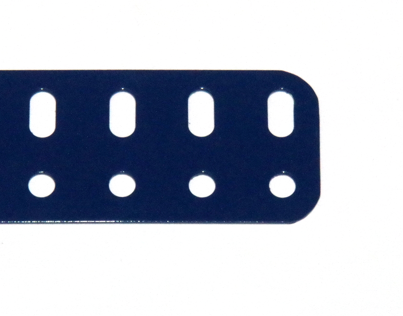 103r Flat Girder 49 Hole Dark Blue