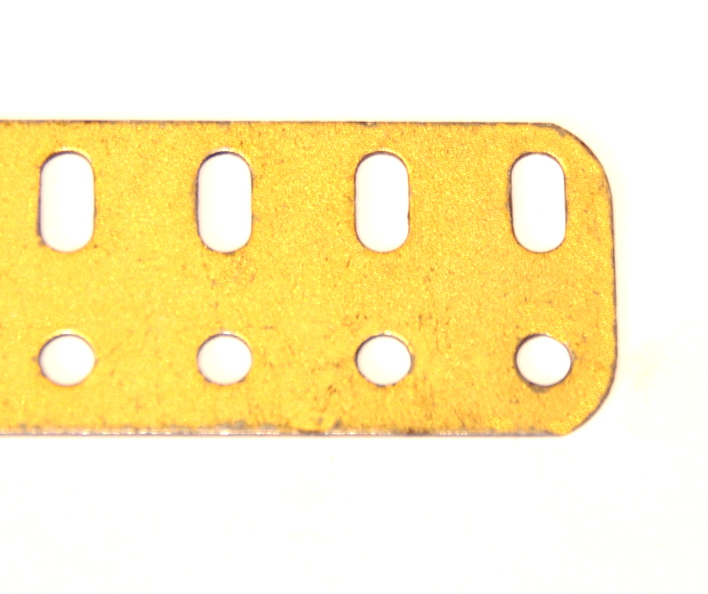 103c Flat Girder 9 Hole Gold Original