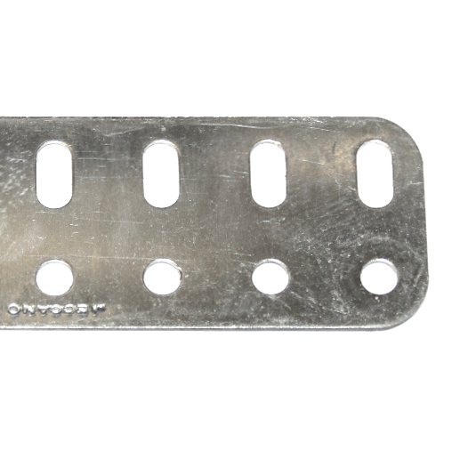 103r Flat Girder 49 Hole Zinc Original