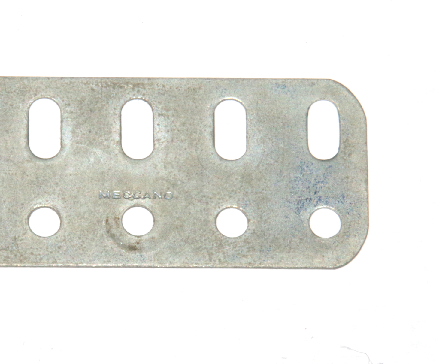 103d Flat Girder 7 Hole Zinc Seconds