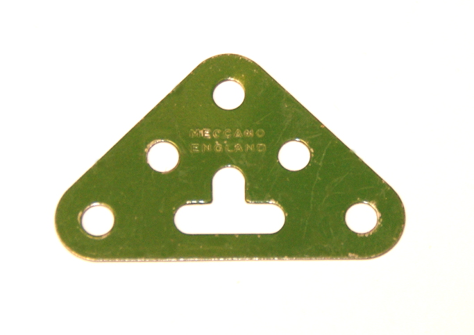 133 Corner Bracket 3x3 Mid Green Original