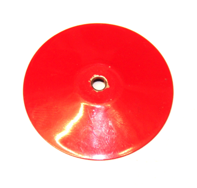 187a Conical Disk Mid Red Original