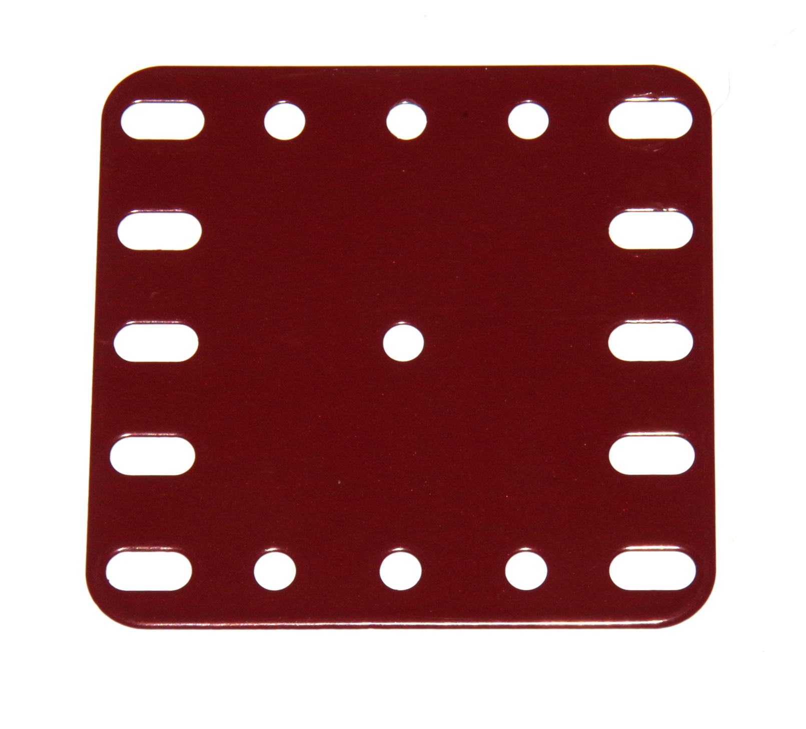 190 Flexible Plate 5x5 Dark Red Original
