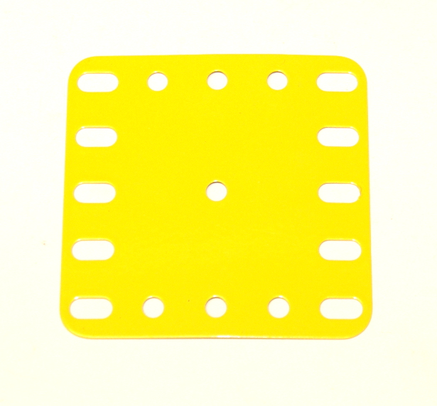 190 Flexible Plate 5x5 French Yellow Original
