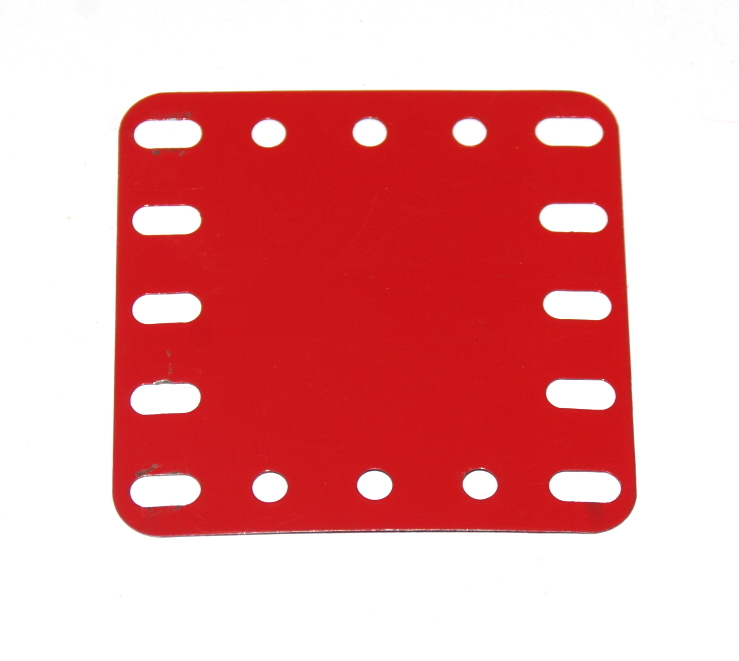 190 Flexible Plate 5x5 Light Red Original