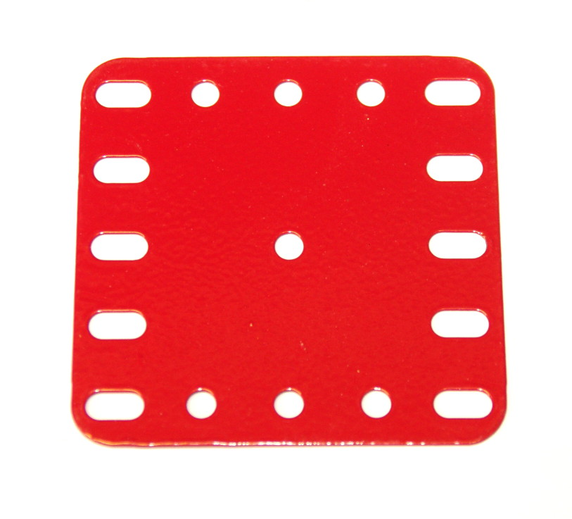 190 Flexible Plate 5x5 Red
