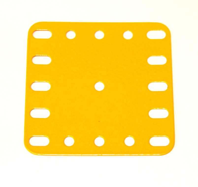 190 Flexible Plate 5x5 UK Yellow