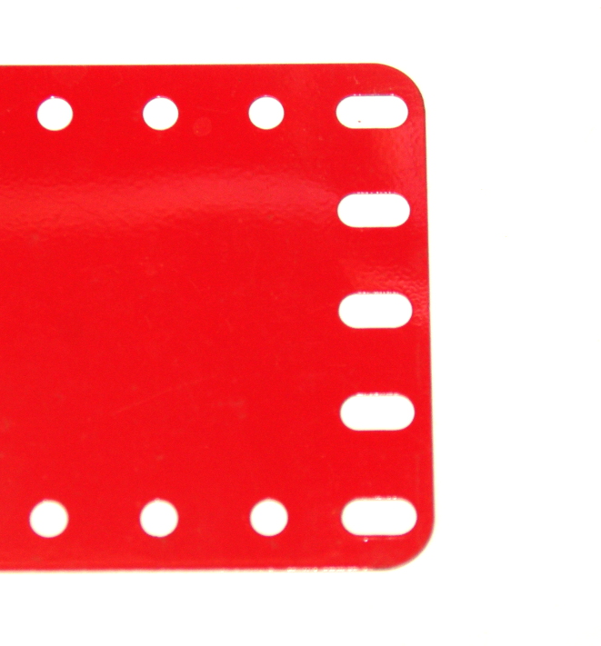 195 Flexible Plate 5x15 Hole Mid Red Slots Original