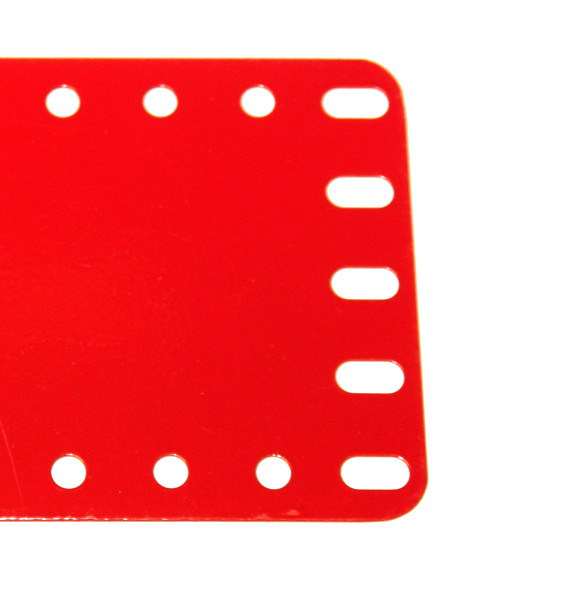 196 Flexible Plate 5x19 Red