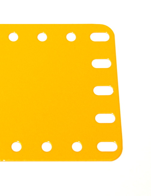 196 Flexible Plate 5x19 UK Yellow