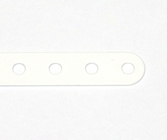 1a Standard Strip 19 Hole White Original