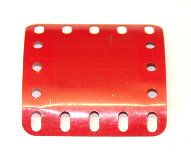 200 C Section Flexible Plate 5x5 Mid Red Original