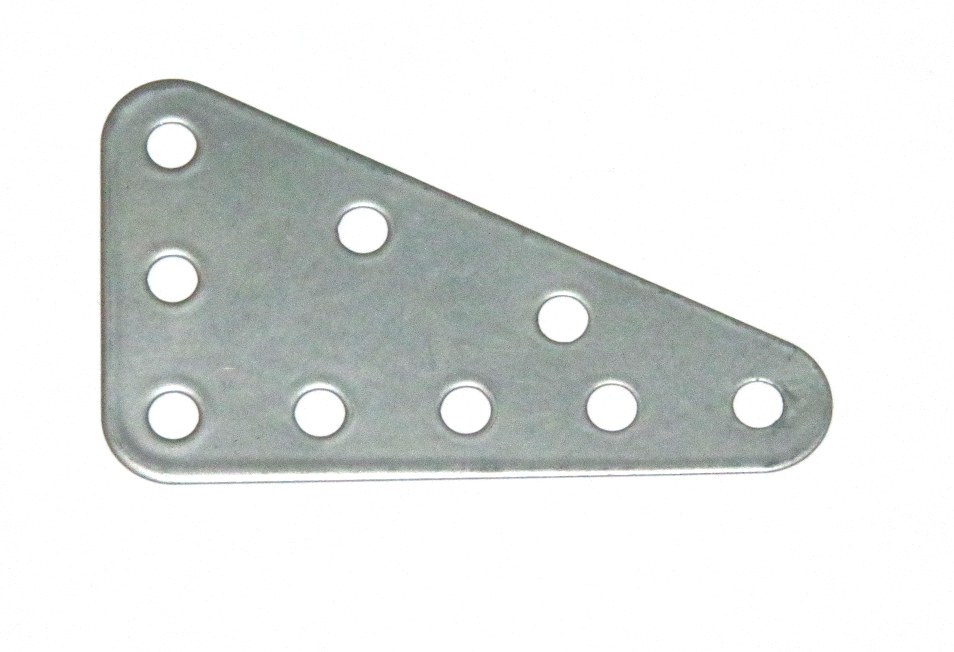 221 Flexible Triangular Plate 5x3 Silver Original