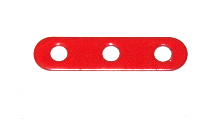 235g Narrow Strip 3 Hole Red Original