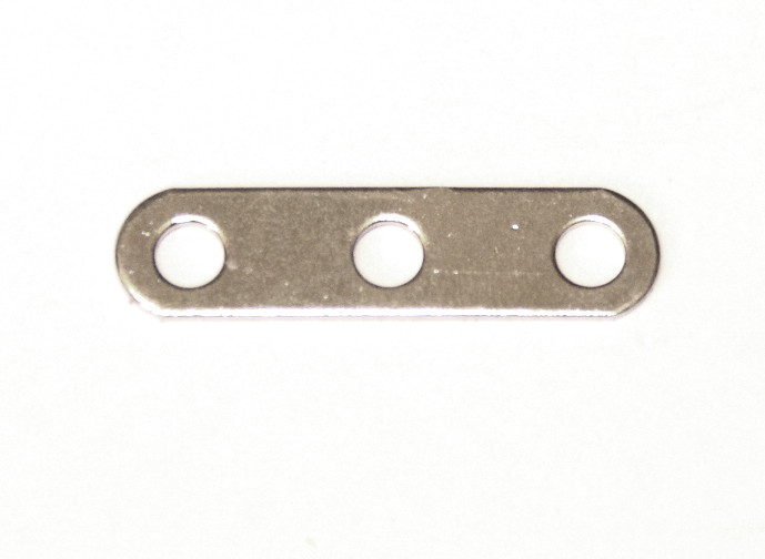 235g Narrow Strip 3 Hole Zinc