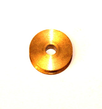 23b ½'' Pulley Without Boss Brass