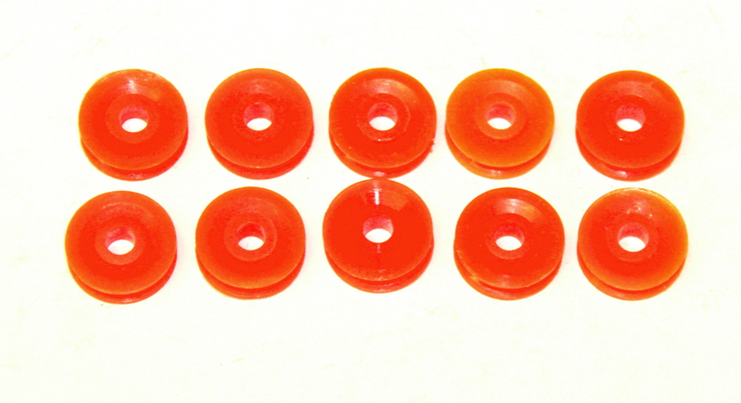 23bp ½'' Pulley Without Boss Orange Plastic Original x10