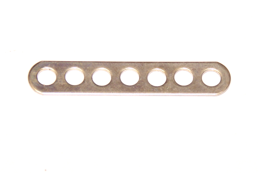 247a Narrow Connector Strip 7 Hole 1 7/8'' Zinc