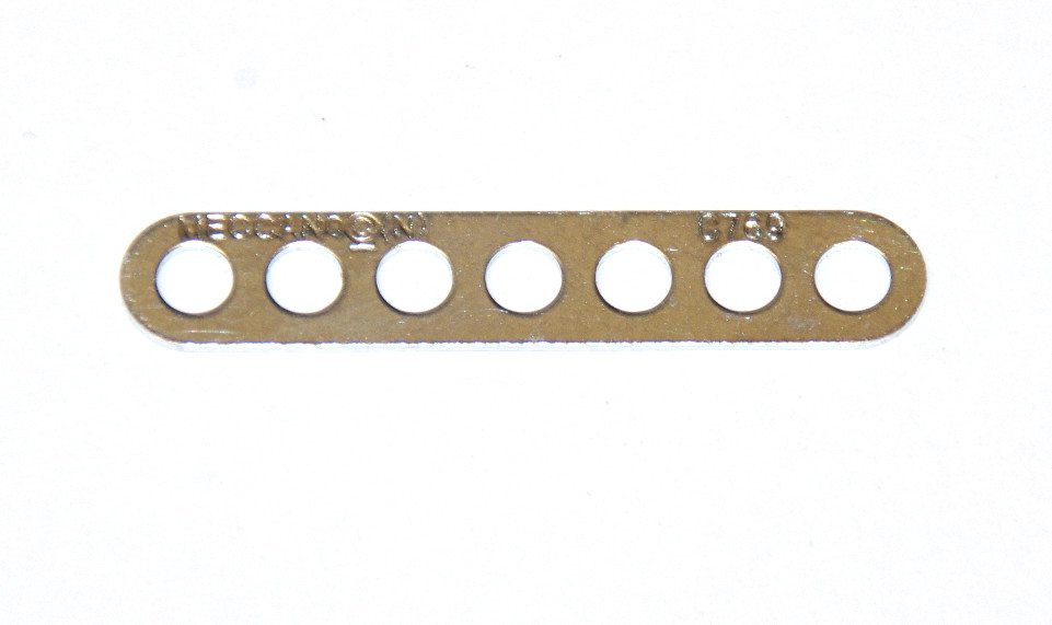247a / C769 Narrow Connector Strip 7 Hole 1 7/8'' Zinc Original