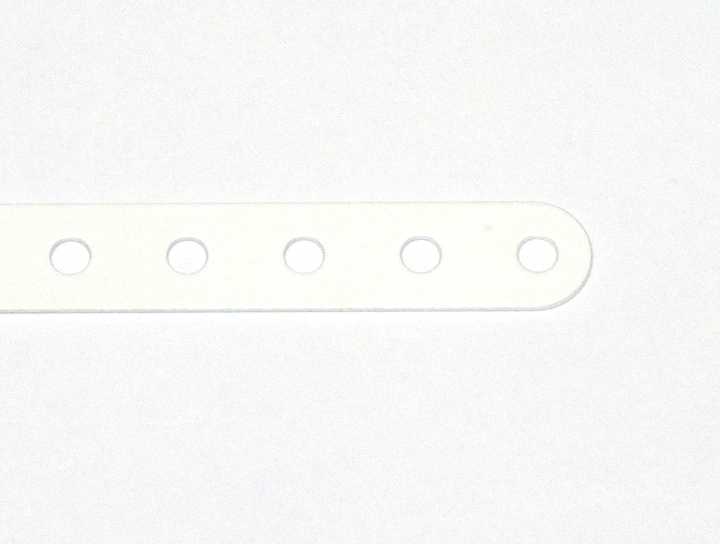 3 Standard Strip 7 Hole White Original