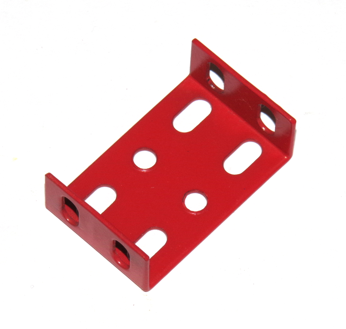 3103-02 Flanged Plate 3x2 Hole Red