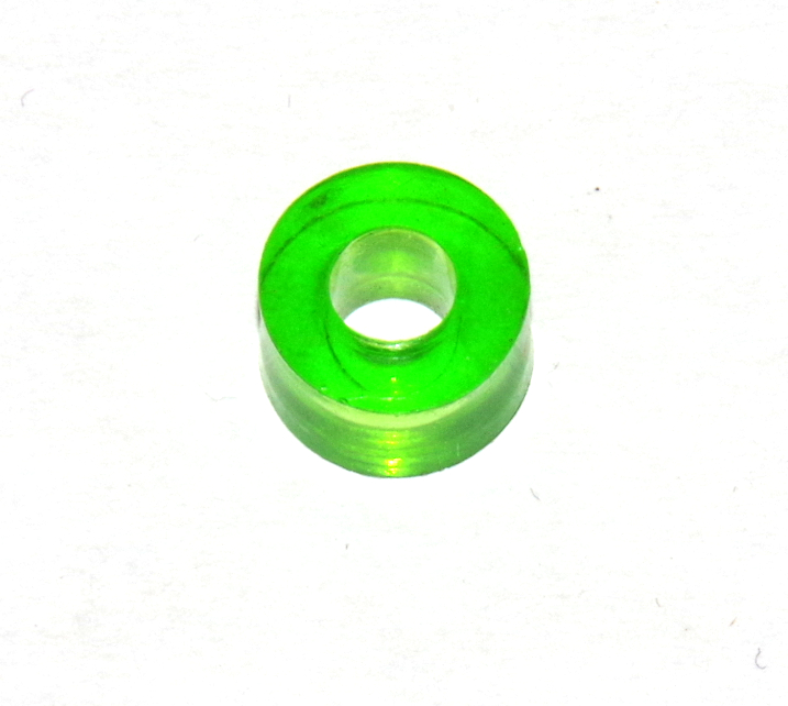 38a Large Washer Transparent Green Plastic Spacer Original