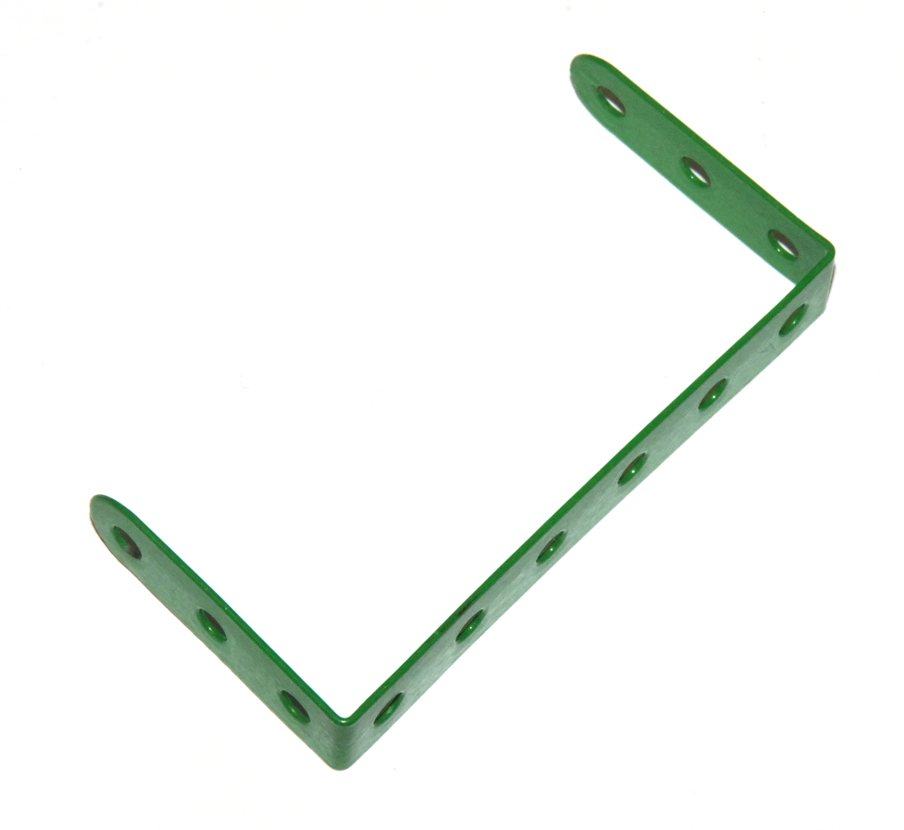 47a Double Angle Strip 3x6x3 Light Green
