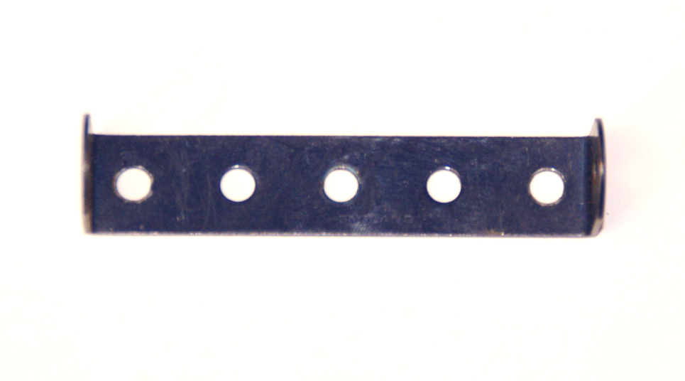 48a Double Angle Strip 1x5x1 Dark Blue Original
