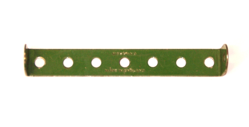48b Double Angle Strip 1x7x1 Mid Green Original