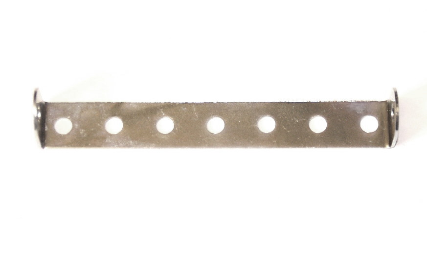 48b Double Angle Strip 1x7x1 Zinc