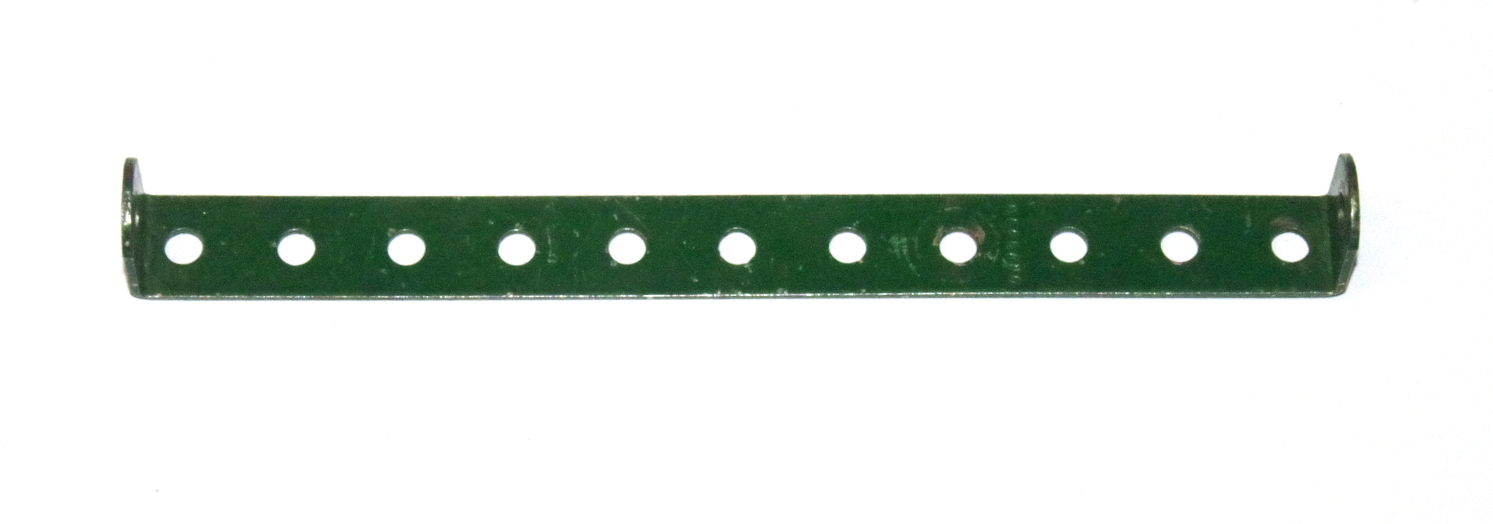 48d Double Angle Strip 1x11x1 Dark Green Original