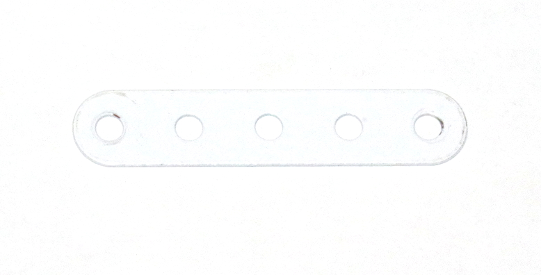 5 Standard Strip 5 Hole White Original