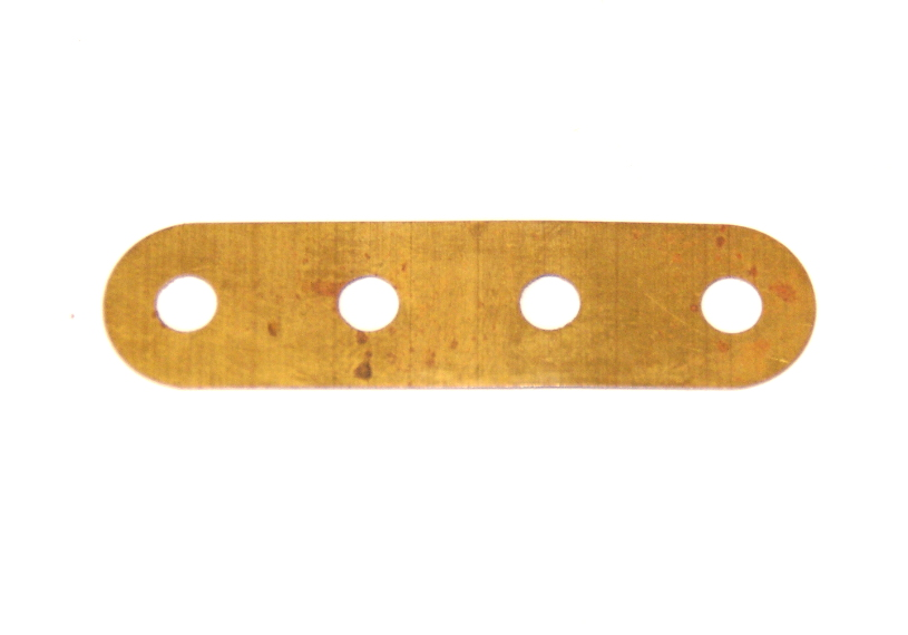 530 Brass Flexible Strip 4 Hole