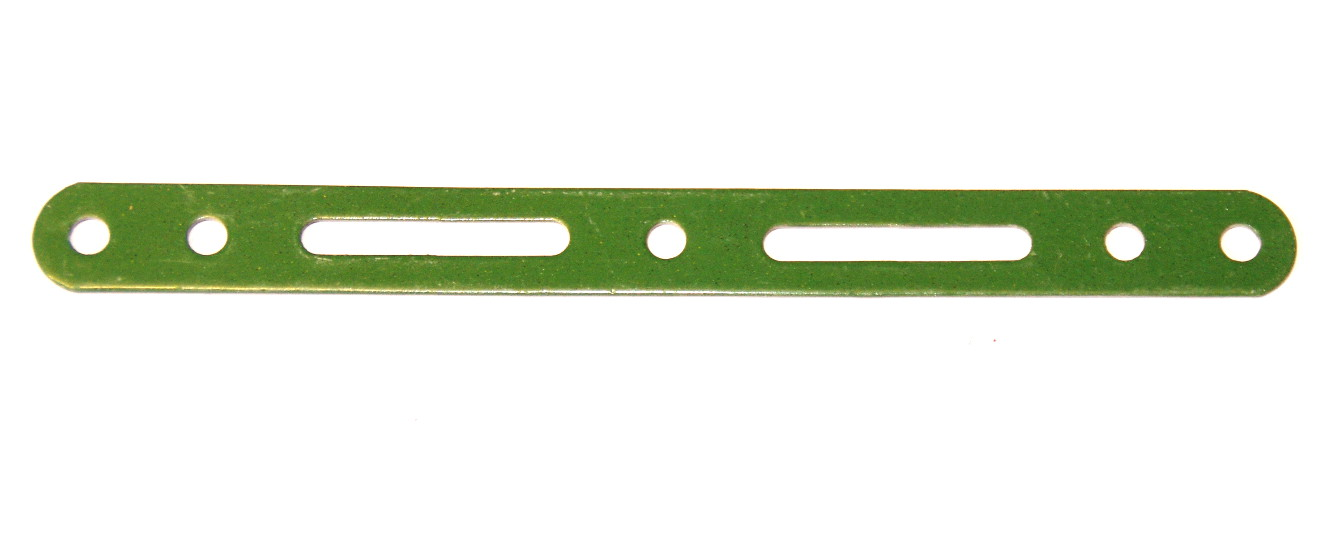 55 Slotted Strip 5½'' Green
