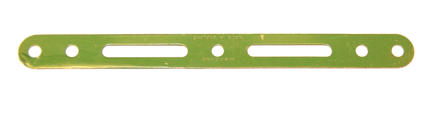 55 Slotted Strip 5½'' Light Green Original