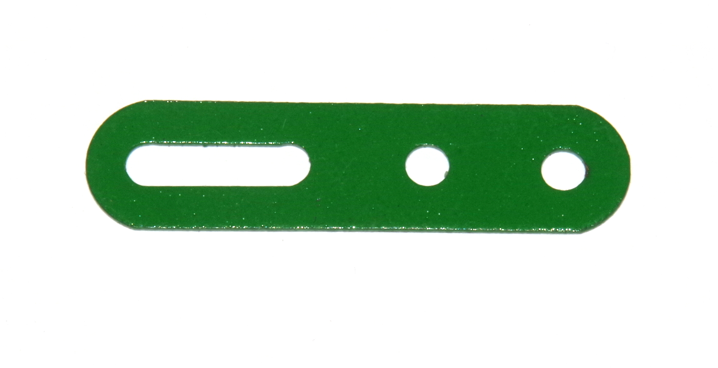 55a Slotted Strip 2'' Light Green