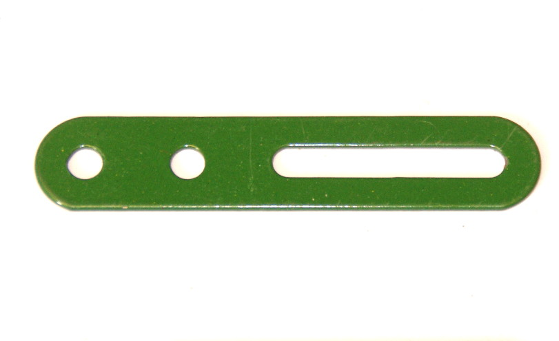 55b Slotted Strip 2½'' Green