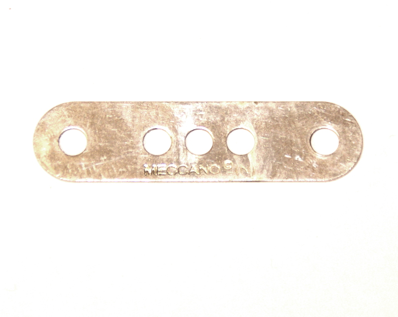6 Standard Strip 4 Hole 1-3-1 Zinc Original