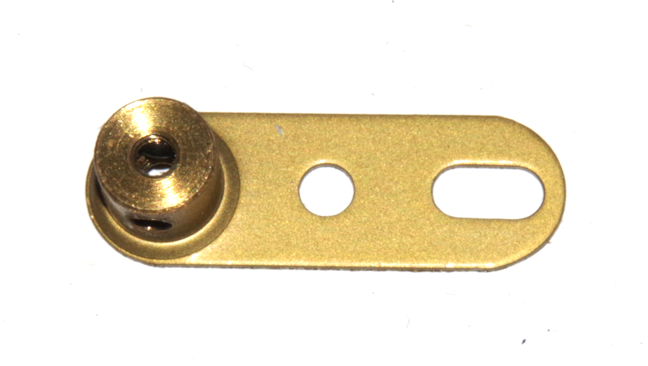 62a Single Arm Crank Threaded Gold Original