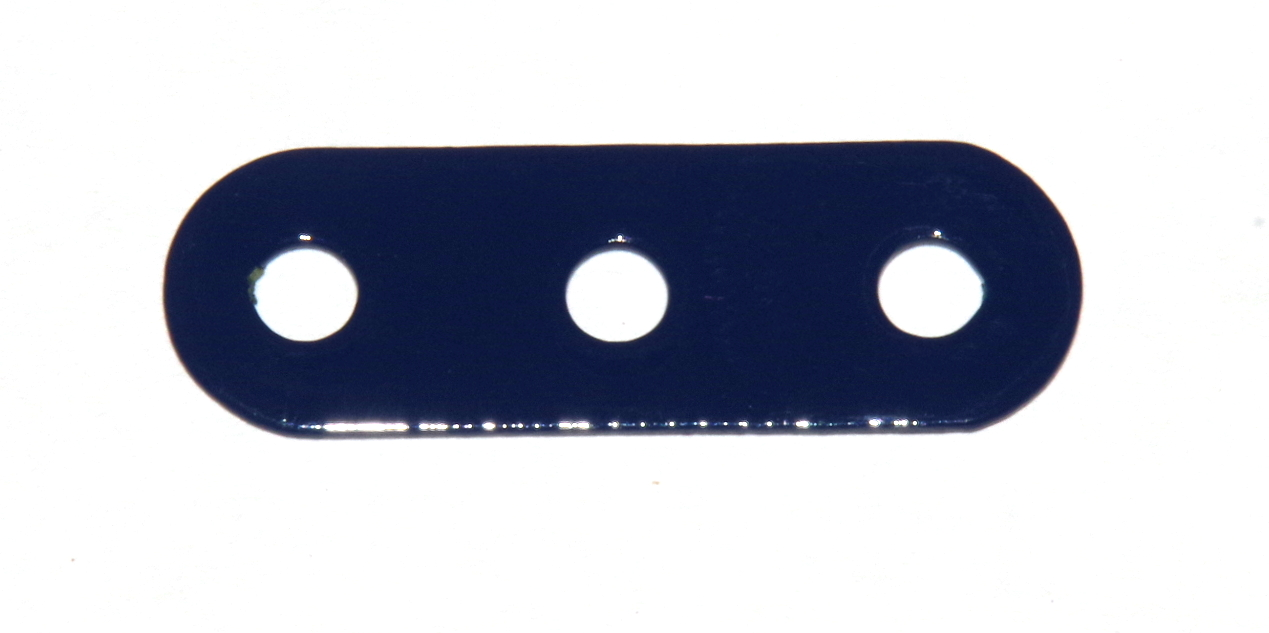 6a Standard Strip 3 Hole Dark Blue Repainted