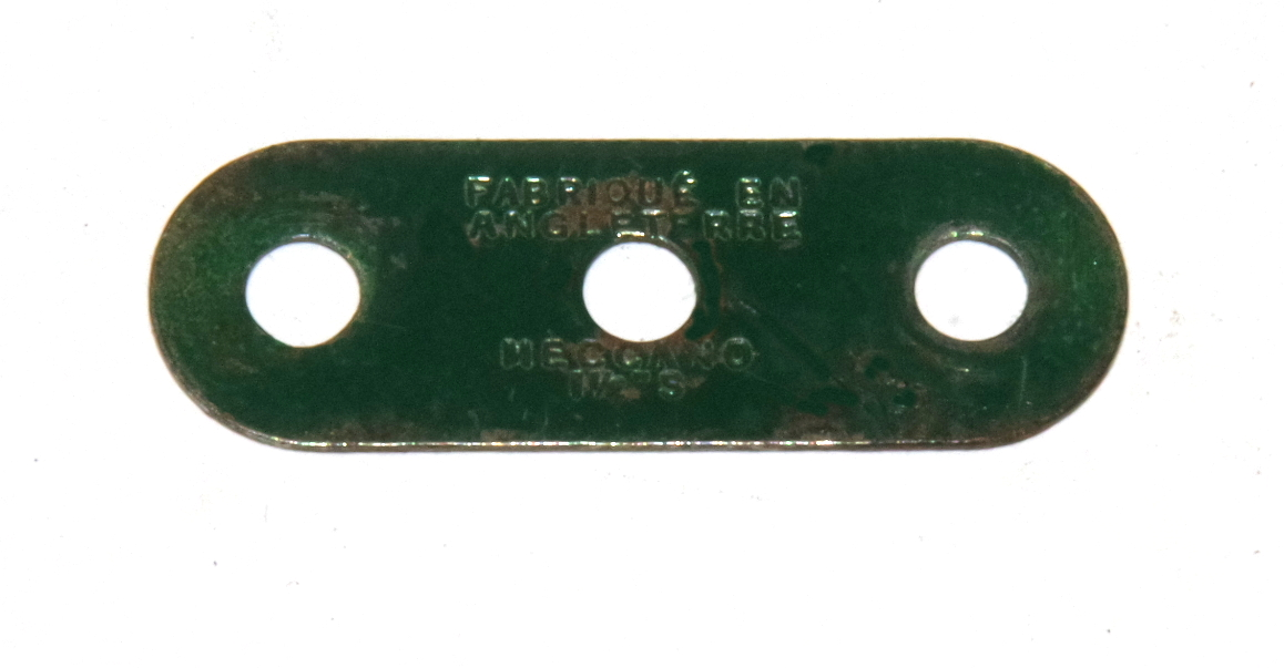 6a Standard Strip 3 Hole Dark Green Original