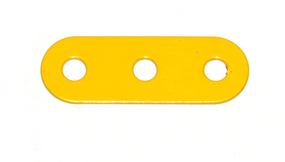 6a Standard Strip 3 Hole French Yellow Original